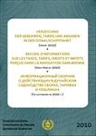 <p>CD Verzeichnis der Gebühren, Tarife und Abgaben in der Donauschifffahrt, (Stand 2010 )<br />Hrsg. 2010</p> <p>Preis für Organisationen der Mitgliedstaate</p>