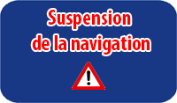 Suspension de la navigation